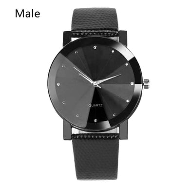 Analog Round Band Easy Men 8 Watch Women Sporting Read Leather Watches To Quartz Dial Steel 220mm Stainless 7inch Wrist
