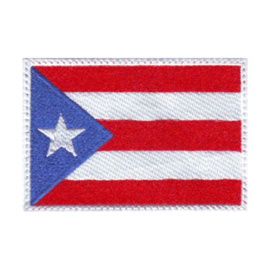 Puerto Rico Flag Embroidered Patch