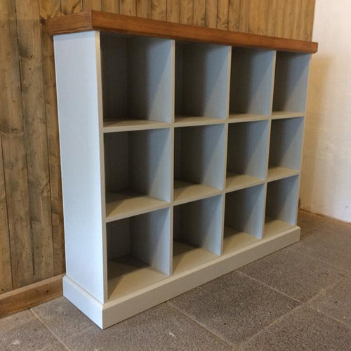 Bookcases, toy boxes and storage units