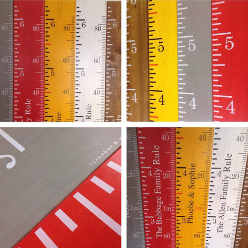 Height Chart Rulers