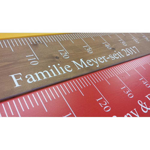 Z Height Chart Ruler EURO version