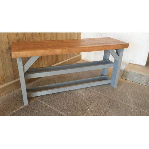 Shoe Bench - Straight Leg