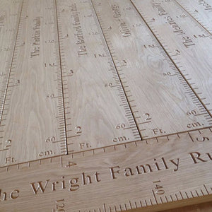 Height Chart Ruler Luxury Oak