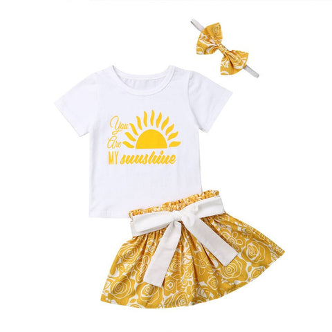 3ps Girls Sunshine Set 12m-5T