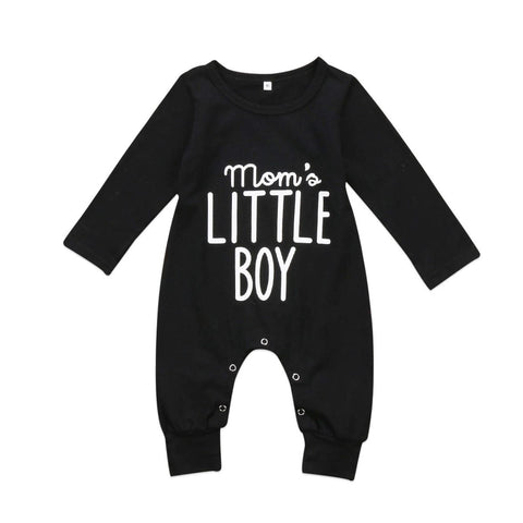 Mom's Little Boy Long Sleeved Baby/Toddler Romper 3m-18m