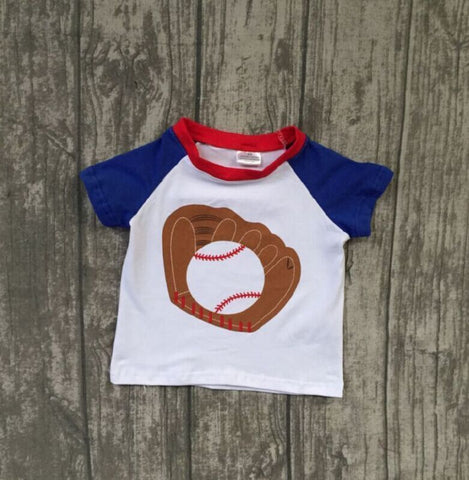 Baseball Summer Raglan Top- 12m-8