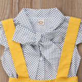 3 Piece  Sunny Yellow Toddler Set 12m-4t