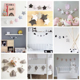 Handmade Nursery/Kids Garland Room Wall Decor-12 colors