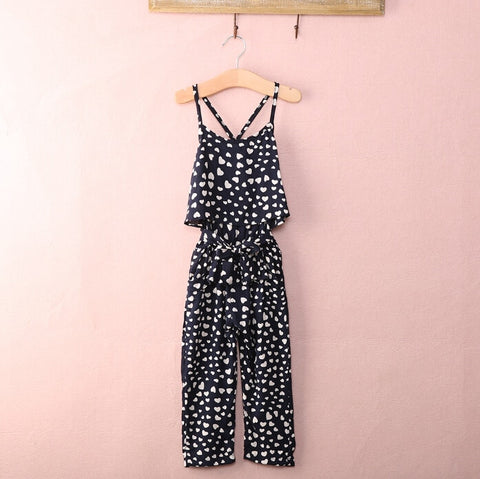 Silky Heart Jumpsuit- 2t-7