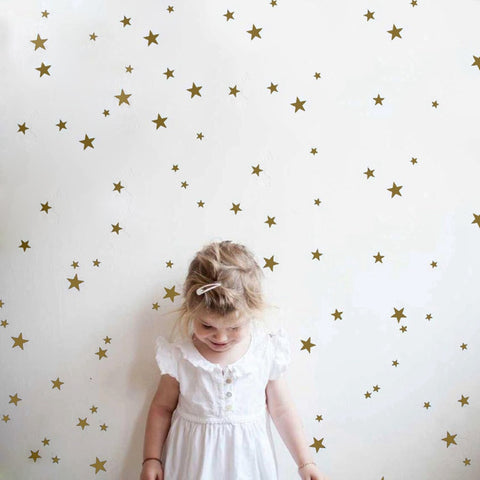 38 pc Star Vinyl Wall Art Decals
