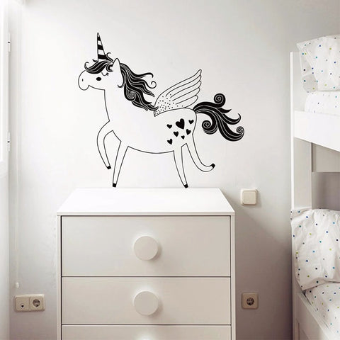 Magical Unicorn Wall Vinyl Decor- 2 sizes