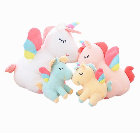 New Soft Rainbow Unicorn Plush