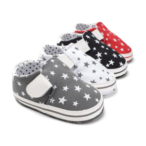 Canvas Baby Crib Play Shoes- 4 colors