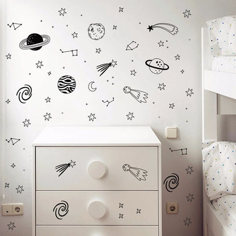 Universe Space Wall  Vinyl Decals