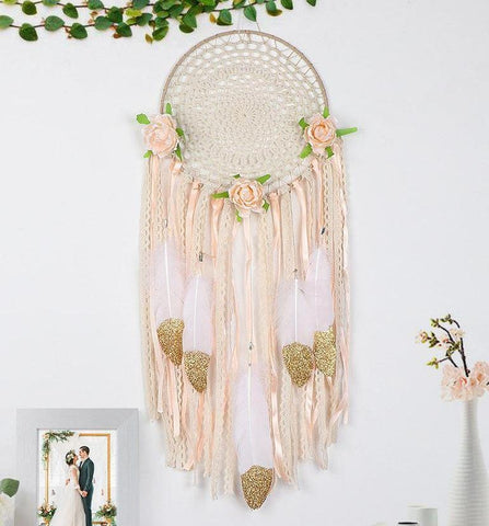 Boho Macrame Dream Catcher Decoration
