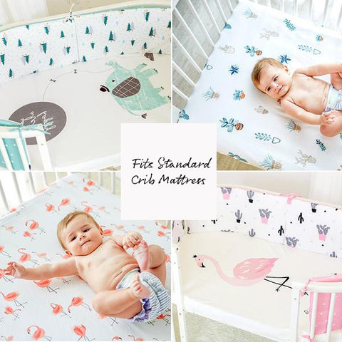 Whimsyful Fitted Bed Sheets- lots of adorable patterns to choose from!