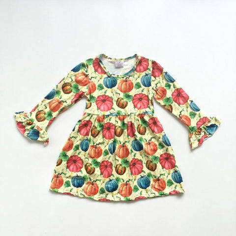 So Color-Fall Pumpkin Dress 12m-9