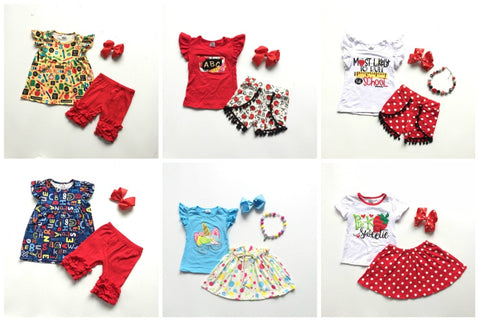Back to School Outfit Sets 4t-10
