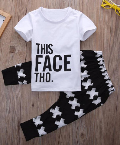 This Face Tho 2 pc Set- 12m-5t