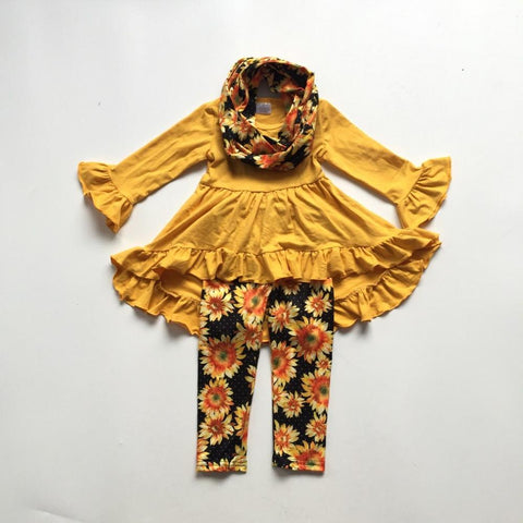 3 pc Fall Sunshine Outfit 12m-9