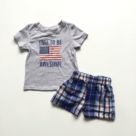 Free to be Awesome 2pc set- 12m-7