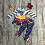 4 pc Girls Fall Boutique Outfit 12m-8