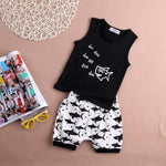 Baby Shark 2pcs Summer Tank and Short Set