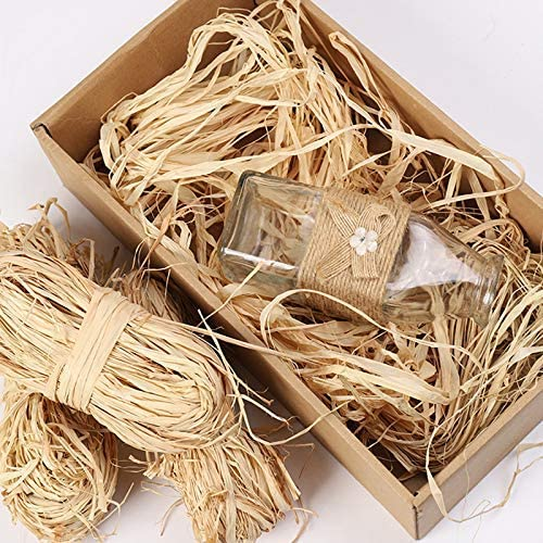 Natural Raffia Paper Ribbon for Floral Bouquets