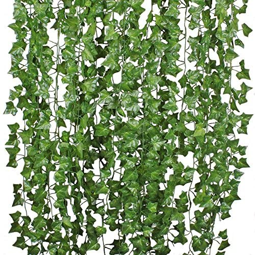 12 Strands Artificial Ivy Leaf Hanging Vine