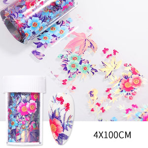Open image in slideshow, Nail Foils Marble Series Nail Transfer Foils Decorations DIY idea nail Art Transfer Sticker Decals Nail Accessories