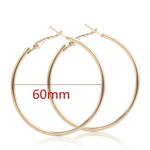 Open image in slideshow, The Extra Drama Hoop Earring