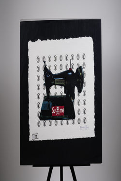 SuMe X Louis Vuitton Sewing Machine Print