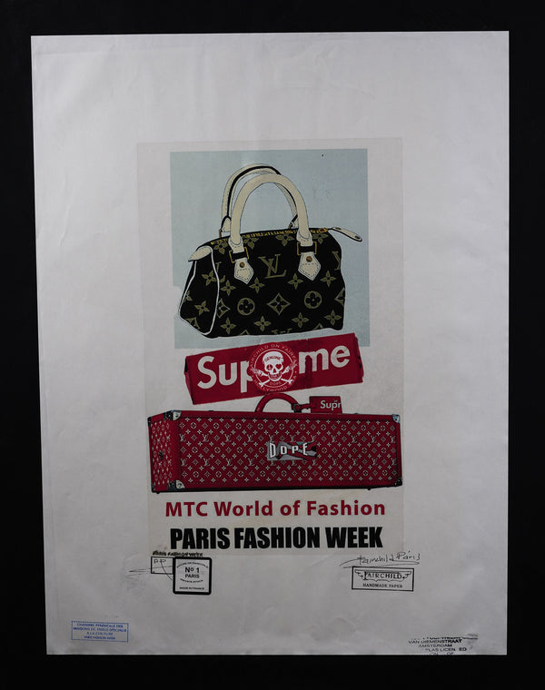 Supreme X Louis Vuitton Purse and Boîte Skateboard Trunk Print