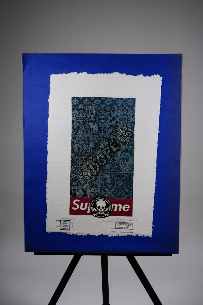 Supreme X Louis Vuitton Print