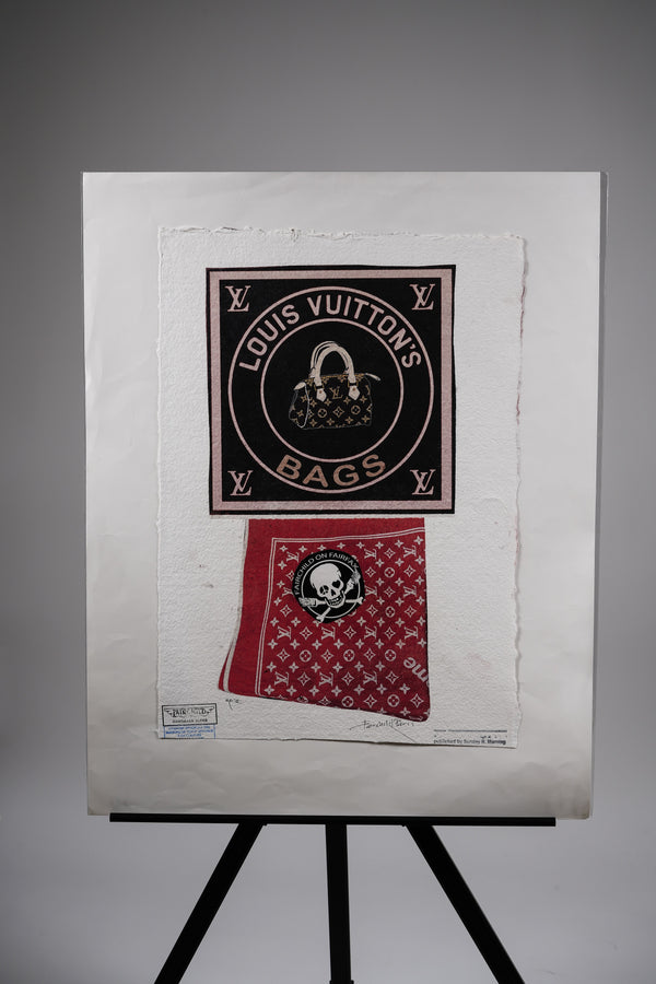 Supreme X Louis Vuitton Bandanas Print