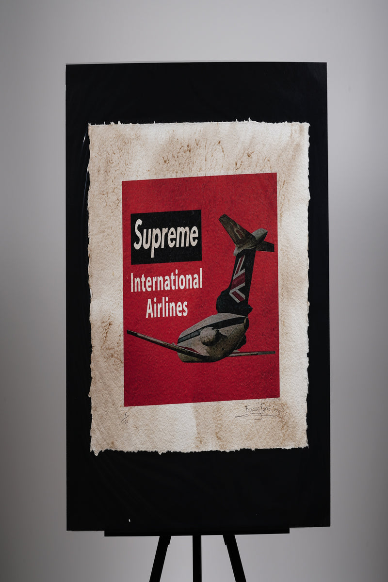 Supreme International Airlines Print
