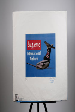 Supreme (Fairfax) International Airlines Print