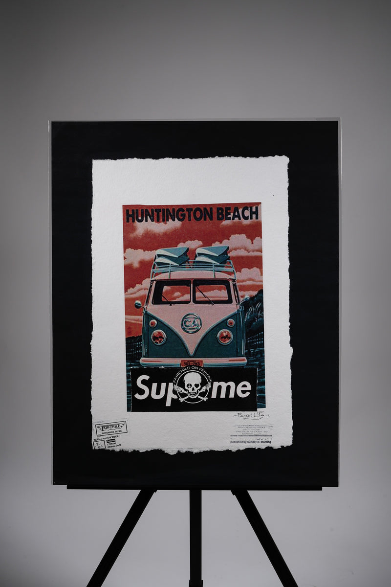 "Supreme ""Huntington Beach"" Print"