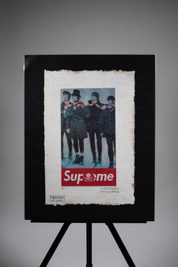 "Supreme ""The Beatles"" Print"