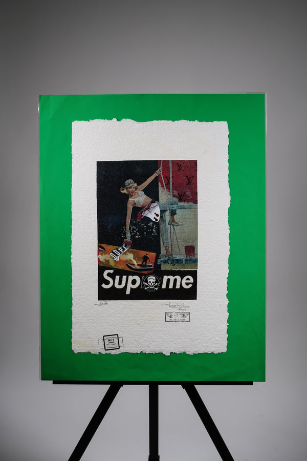 "Supreme ""Collage"" Print"
