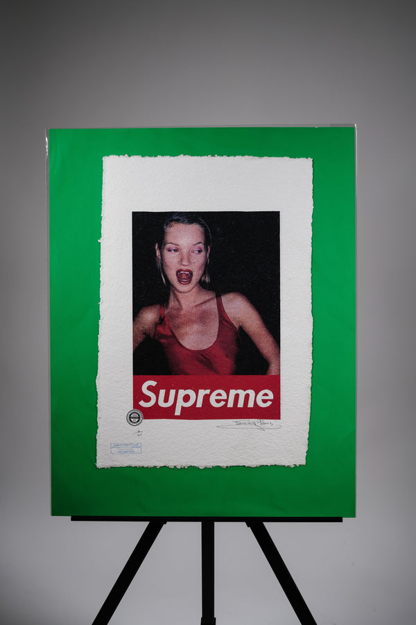 "Supreme X Kate Moss ""Wild Night"" Print"