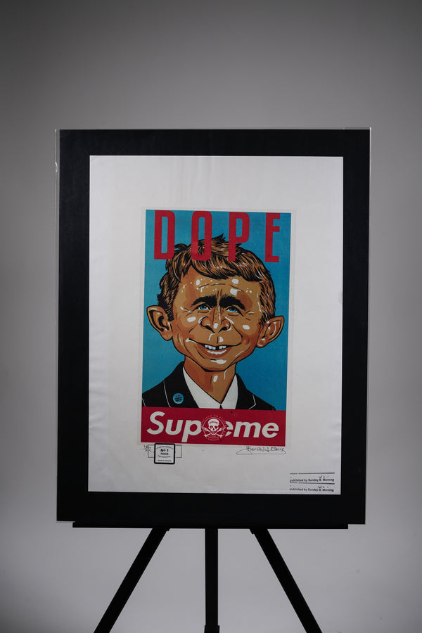 "Supreme ""DOPE"" Cartoon Print"