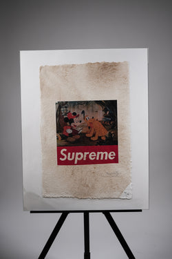 Mickey Mouse X Supreme Print