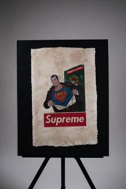 "Supreme ""Superman"" Print"