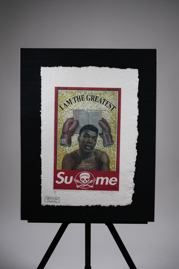 "SuMe X Muhammad Ali ""I Am The Greatest"" Print"