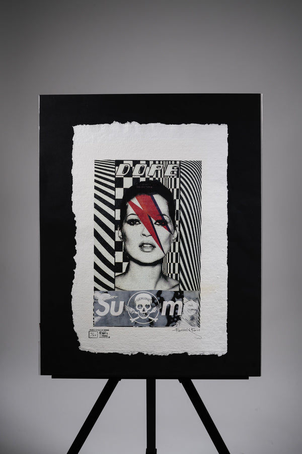 "SuMe X Kate Moss ""Bowie"" Print"