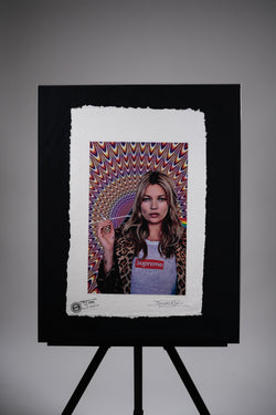 "Supreme X Kate Moss ""Psychedelic"" Print"