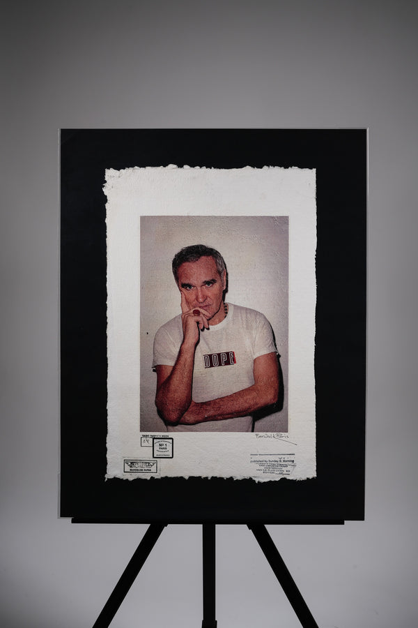 "SuMe X Morrissey ""DOPE"" Print"