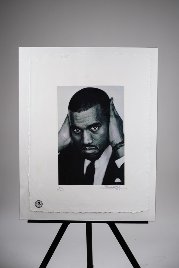 "Kanye ""Can't Hear Anyone"" Print"