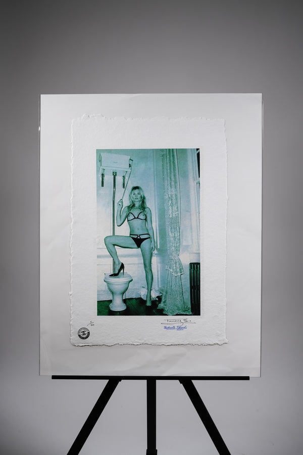 "Kate Moss ""Bathroom"" Print"